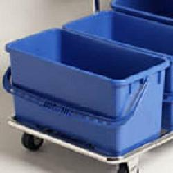 cleanroom cleaning supplies slimline autoclavable bucket