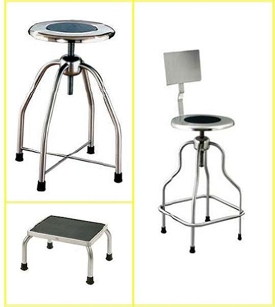 cleanroom stainless steel stool