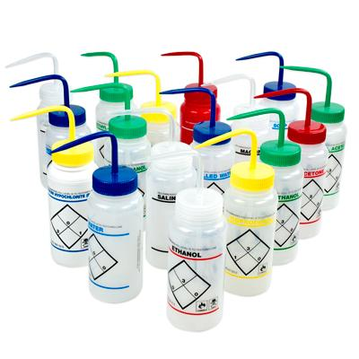 picture of right-to-know safety bottles