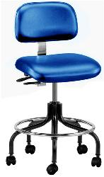 Doral Vinyl Series Bevco Chair with Casters