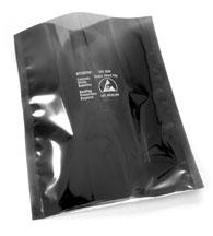 cleanroom static control metal out shielding bags