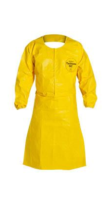 DuPont™ Tychem® QC Sleeved Apron, QC275B YL
