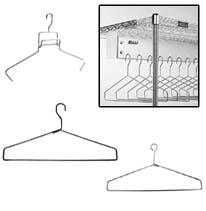 cleanroom gowning room components hangers