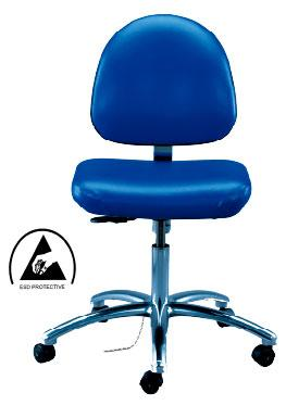 ESD Safe Cleanroom Chair - 9000 Series